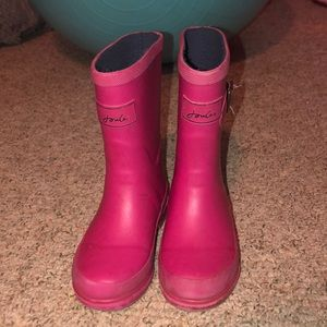 Girl's Joules Rainboots Size:11